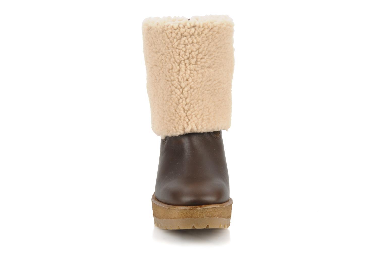 Bottines et boots Pare Gabia Nelice Marron vue portées chaussures