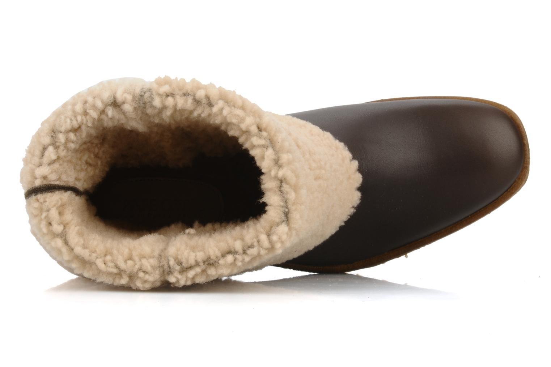Boots en enkellaarsjes Pare Gabia Nelice Bruin links