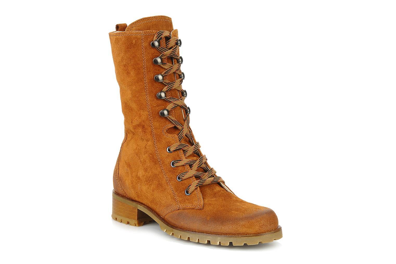 Boots en enkellaarsjes Pare Gabia Tuilia Bruin detail
