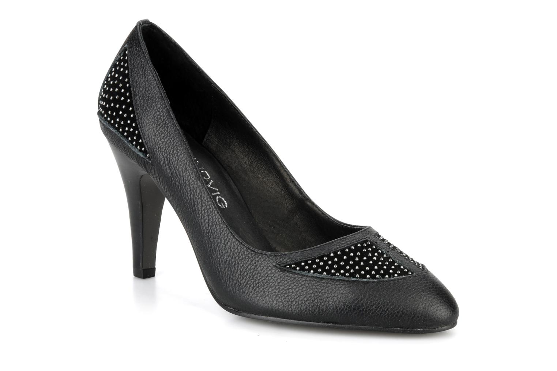 High heels Lise Lindvig Trudy Black detailed view/ Pair view