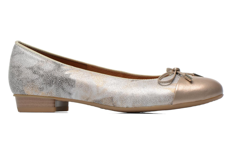 Ballerina's Ara Bari Goud en brons achterkant