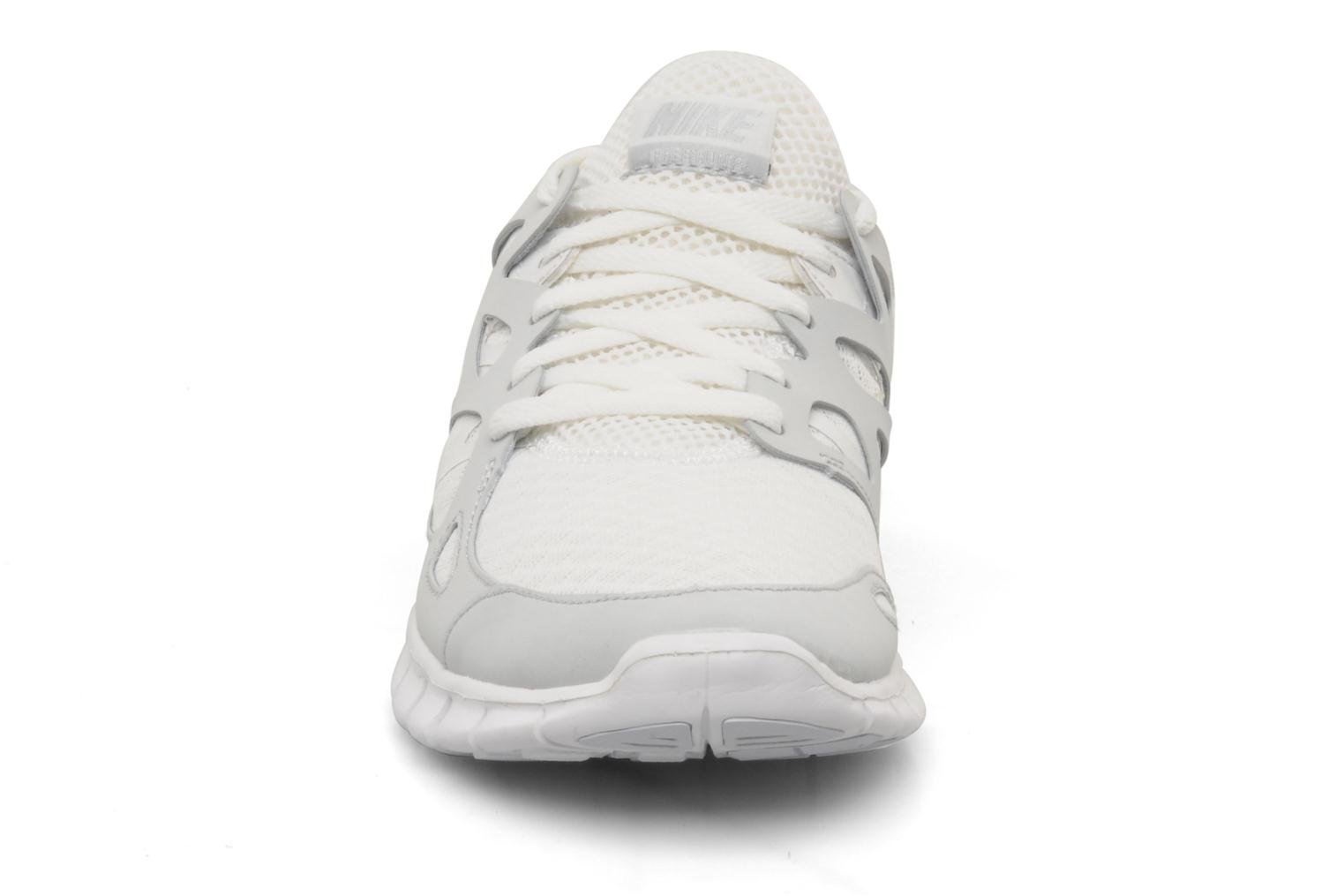 Wmns nike free run+ 2 Summit white/white-pr platinum