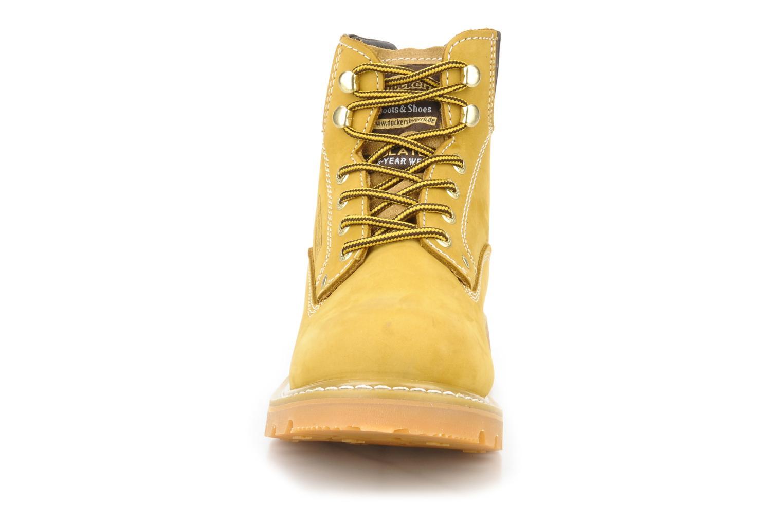 Stiefeletten & Boots Dockers Looka gelb schuhe getragen