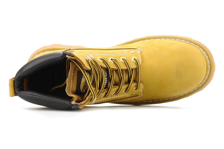 Stiefeletten & Boots Dockers Looka gelb ansicht von links