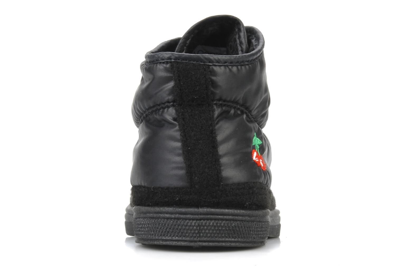 Sneakers Le temps des cerises Basic 03 doune Zwart rechts