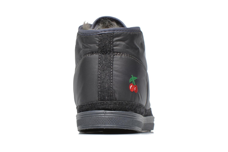 Sneaker Le temps des cerises Basic 03 doune grau ansicht von rechts