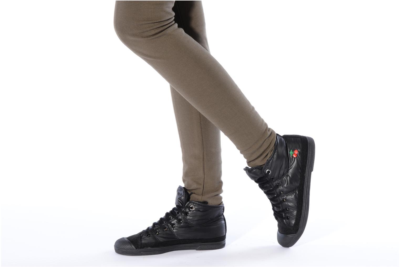 Sneakers Le temps des cerises Basic 03 doune Zwart onder