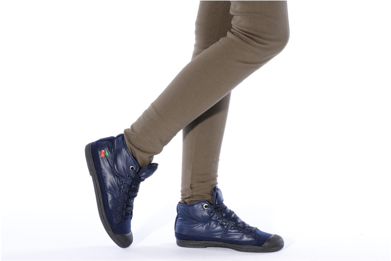 Sneakers Le temps des cerises Basic 03 doune Blauw onder
