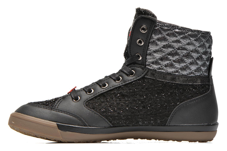Sneakers Le temps des cerises Heritage Zwart voorkant