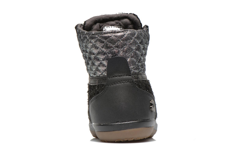 Sneakers Le temps des cerises Heritage Zwart rechts