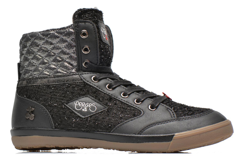 Sneakers Le temps des cerises Heritage Zwart achterkant