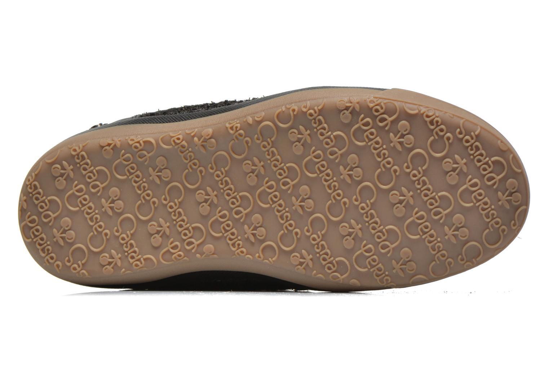 Sneaker Le temps des cerises Heritage schwarz ansicht von oben