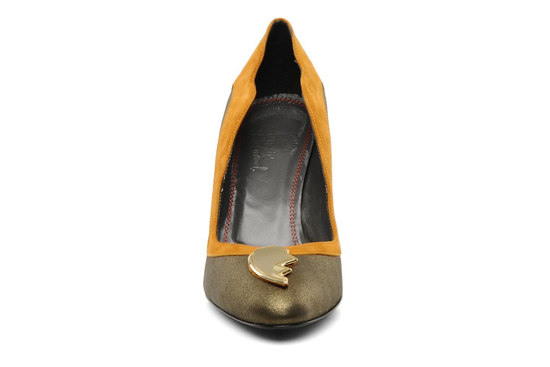 Escarpins Amelie Pichard Isabella r Marron vue portées chaussures