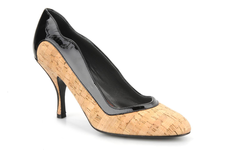 Høje hæle Amelie Pichard Audrey Sort detaljeret billede af skoene
