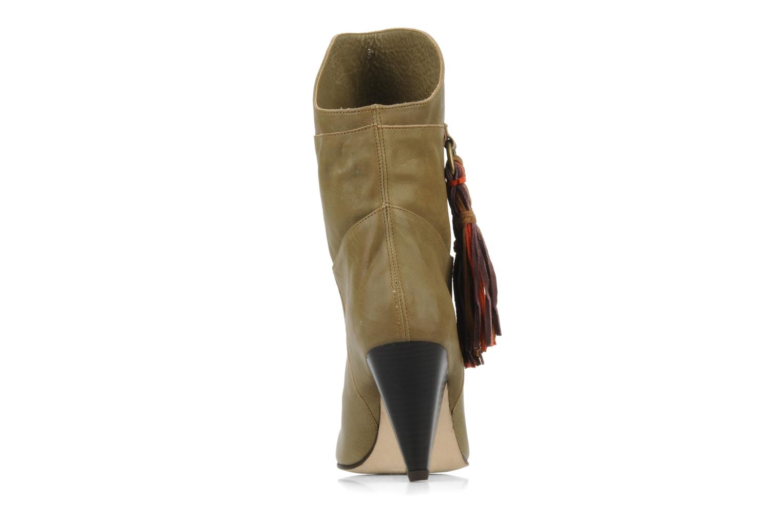 Ankle boots Antik Batik July 1 lbo Beige view from the right
