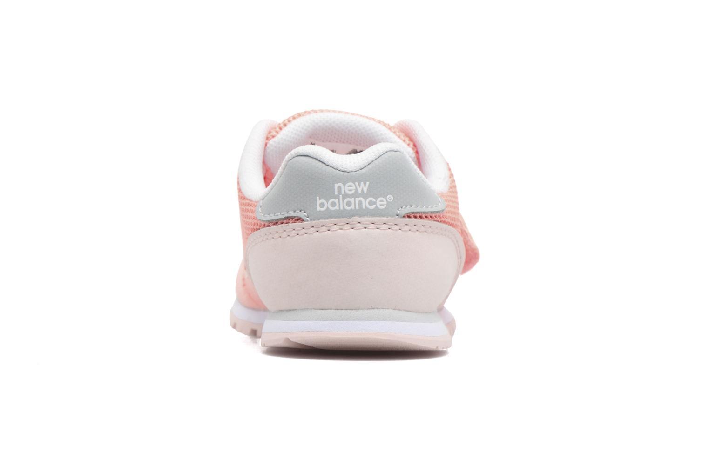 Sneaker New Balance Ka373 rosa ansicht von rechts