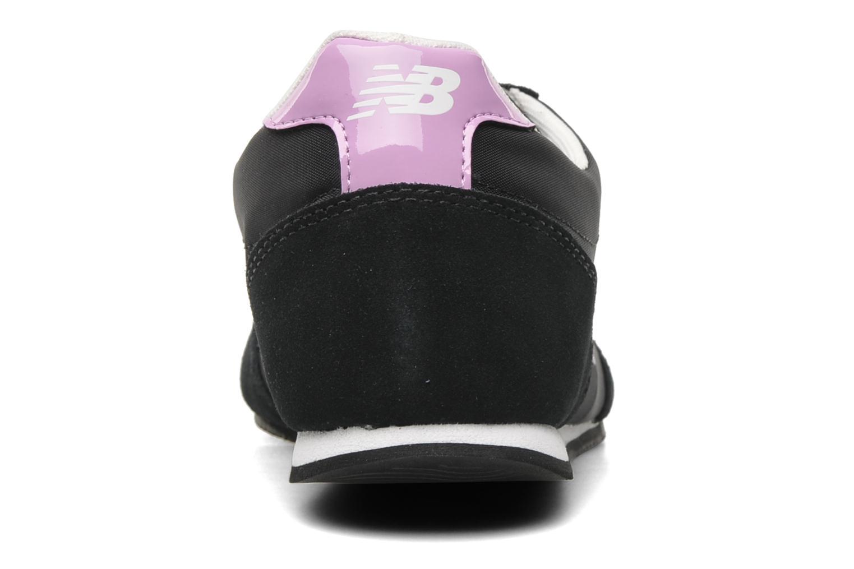 Sneakers New Balance S410 Zwart rechts
