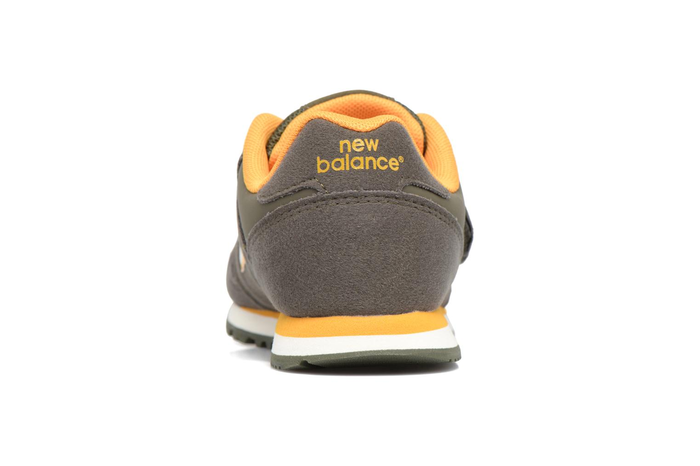 Sneaker New Balance Kv373 grün ansicht von rechts