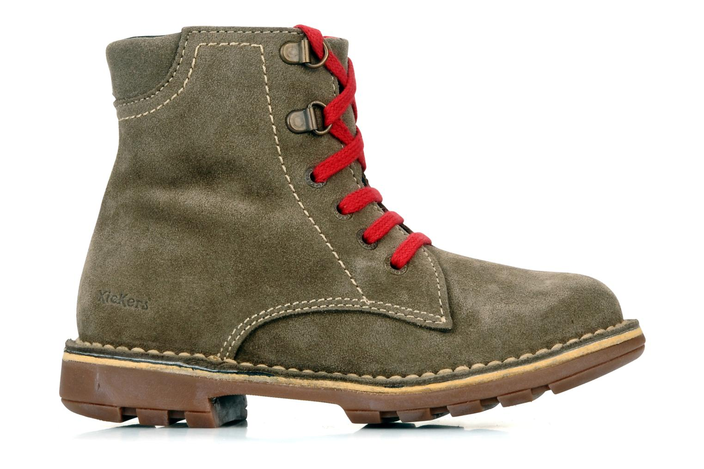Boots en enkellaarsjes Kickers Kiosk Bruin achterkant