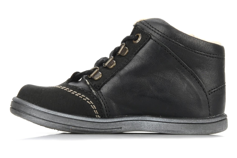 Boots en enkellaarsjes Kickers Tao Zwart voorkant