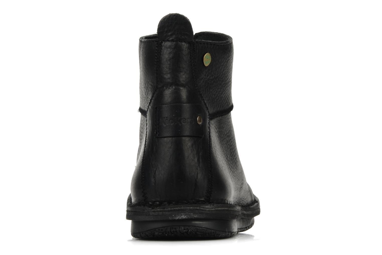 Bottines et boots Kickers Picture Noir vue droite