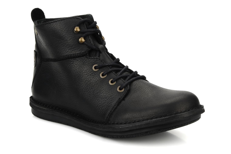 Bottines et boots Kickers Picture Noir vue détail/paire