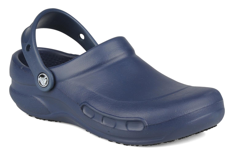 Wedges Crocs Bistro w Blauw detail