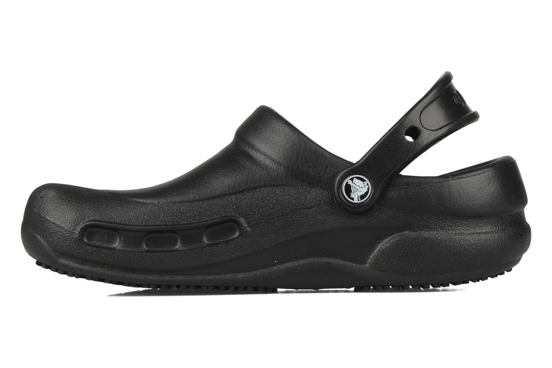 Wedges Crocs Bistro w Zwart voorkant