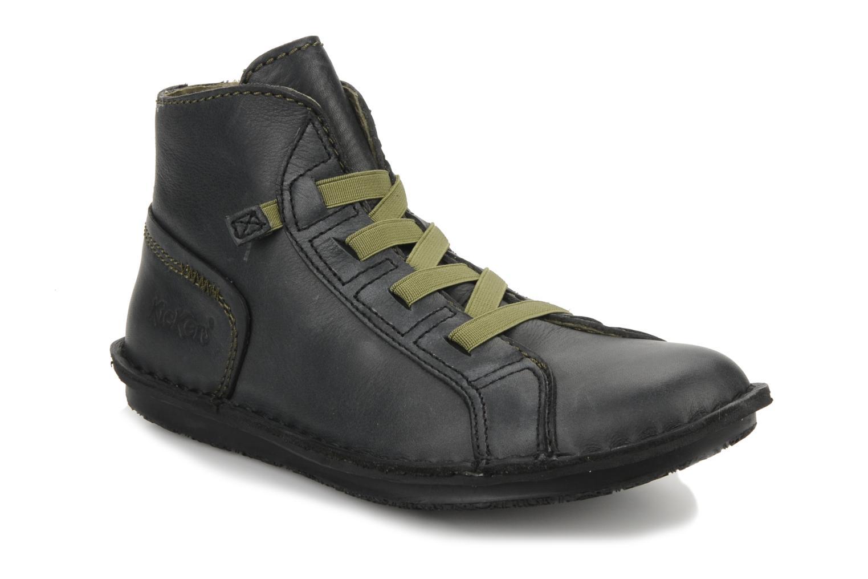 Boots en enkellaarsjes Kickers Watcha Zwart detail