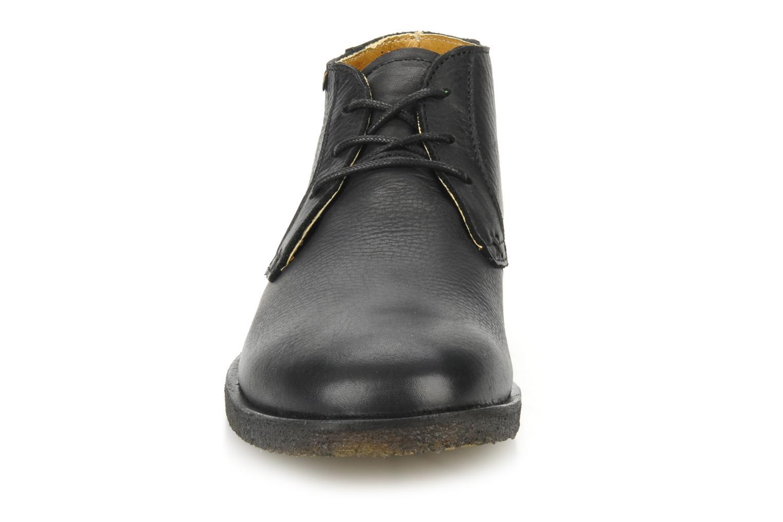 Chaussures à lacets Kickers Jazzy Noir vue portées chaussures