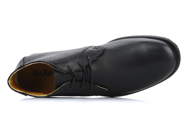 Chaussures à lacets Kickers Jazzy Noir vue gauche