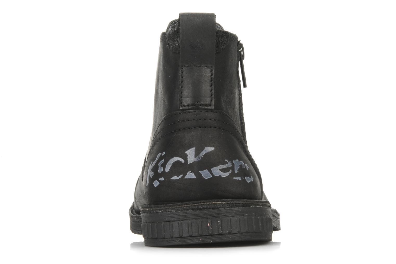 Bottines et boots Kickers Jesoif Noir vue droite