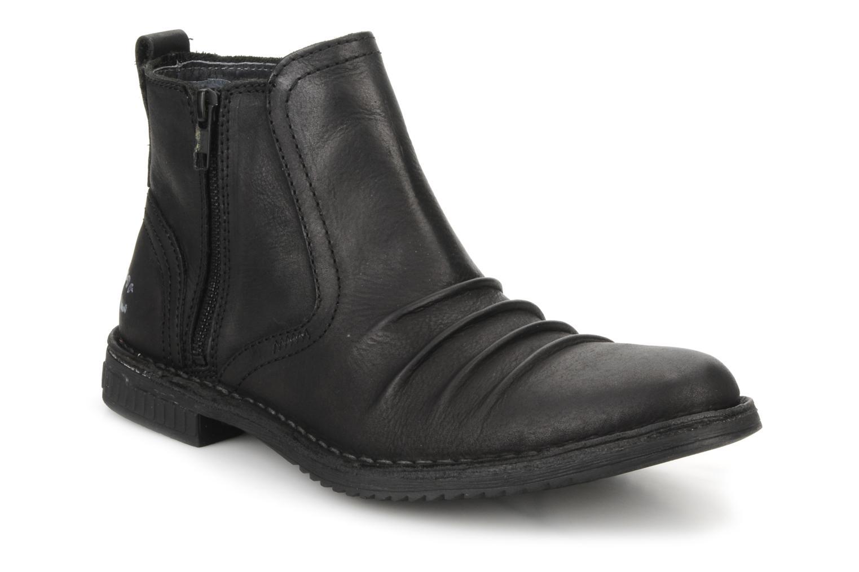 Bottines et boots Kickers Jesoif Noir vue détail/paire