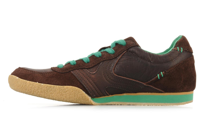 Sneaker Kickers Optimum braun ansicht von vorne