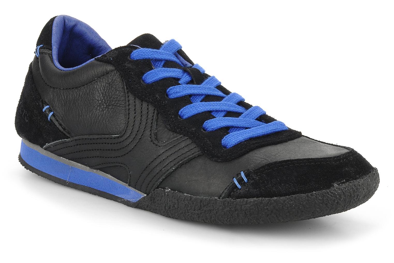 Sneakers Kickers Optimum Zwart detail