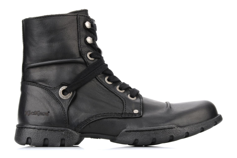 Bottines et boots Kickers Docklands Noir vue derrière