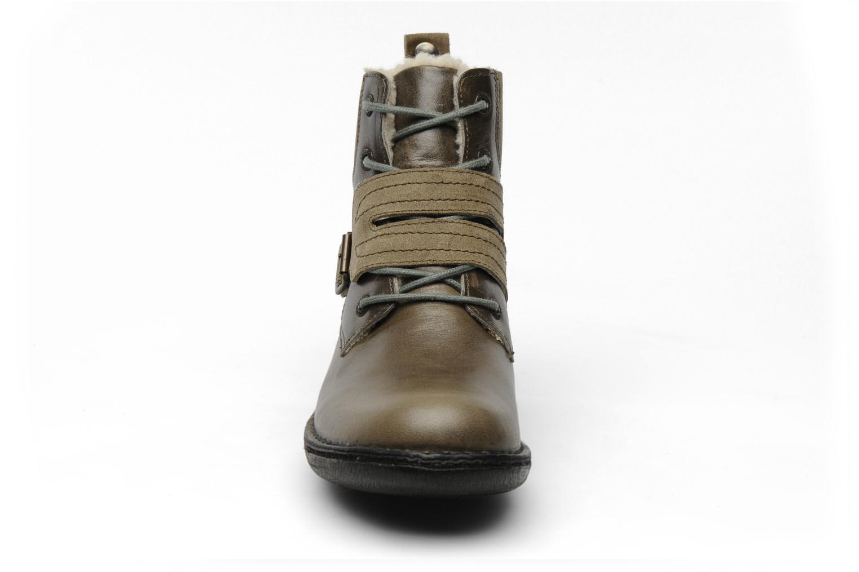 Boots en enkellaarsjes Kickers Rockshow Groen model