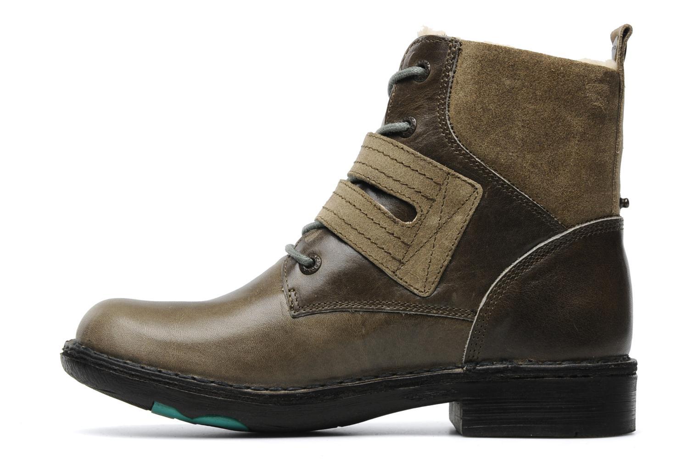 Boots en enkellaarsjes Kickers Rockshow Groen voorkant