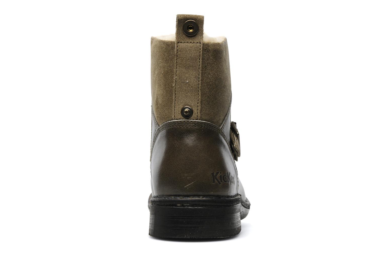 Boots en enkellaarsjes Kickers Rockshow Groen rechts