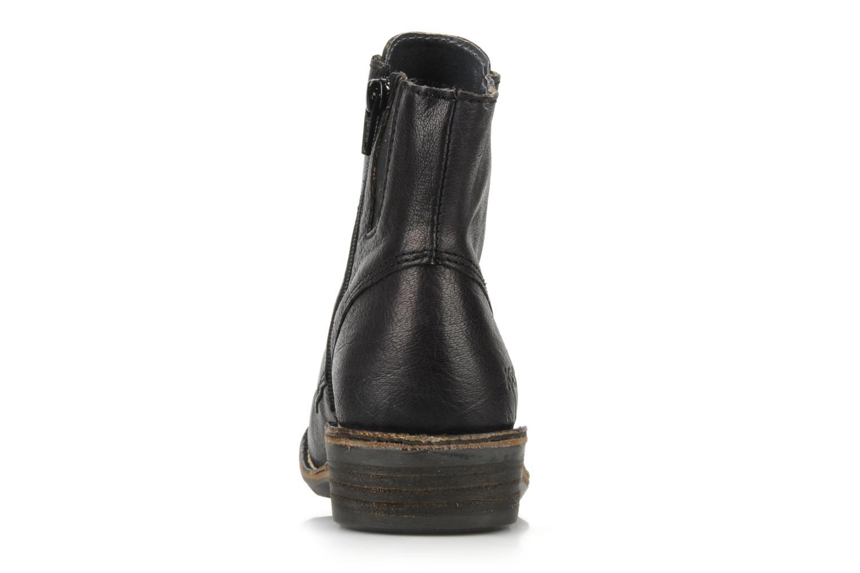Bottines et boots Kickers Georges Noir vue droite