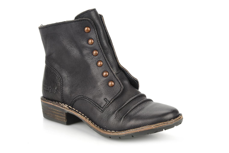 Bottines et boots Kickers Georges Noir vue détail/paire