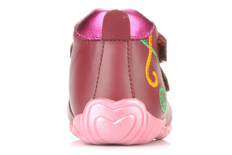 Chaussures à scratch Agatha Ruiz de la Prada Arone Rose vue droite