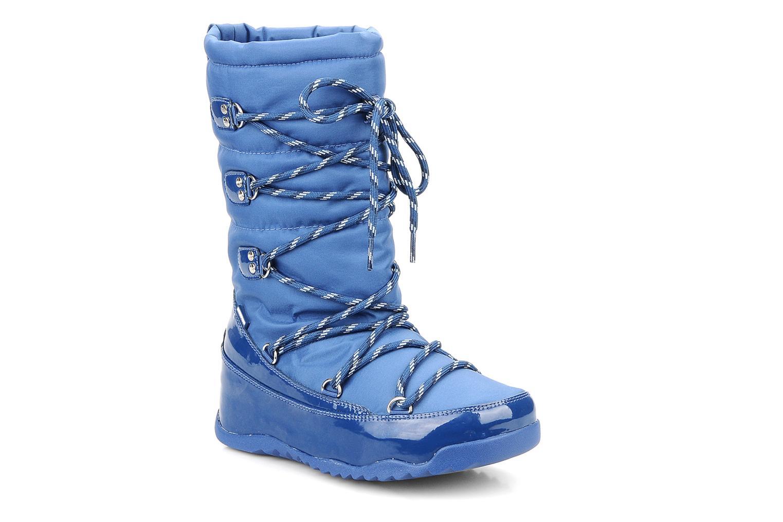 Bottines et boots FitFlop Blizzboot Bleu vue détail/paire