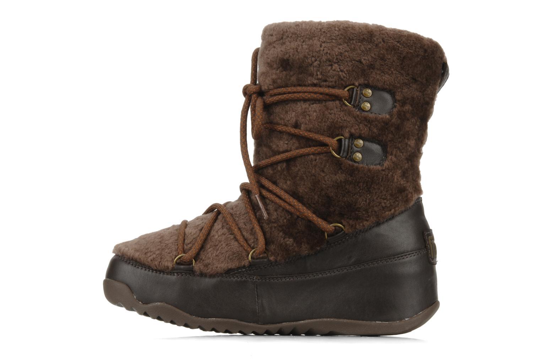 Bottines et boots FitFlop Super blizz Marron vue face
