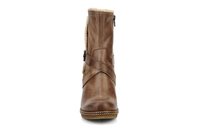 Bottines et boots Coco et abricot Pyxide Marron vue portées chaussures