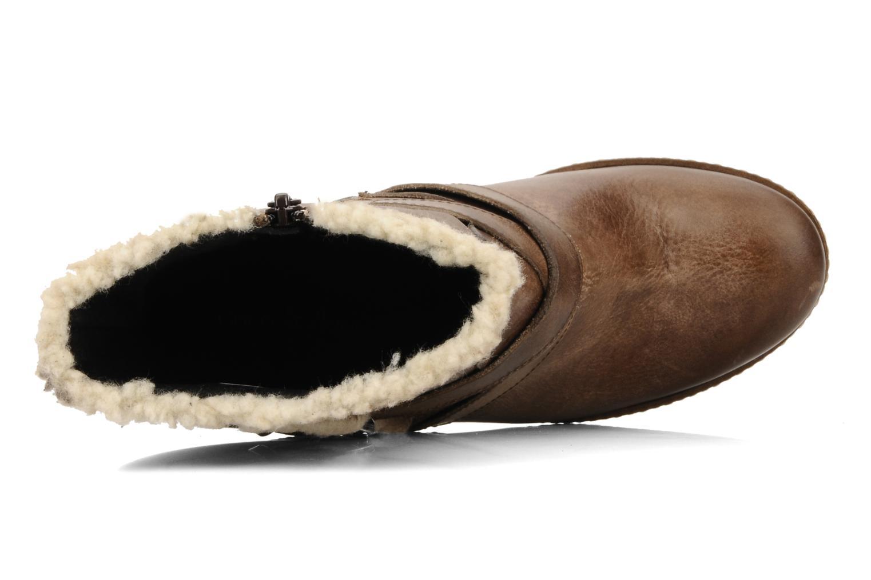 Bottines et boots Coco et abricot Pyxide Marron vue gauche