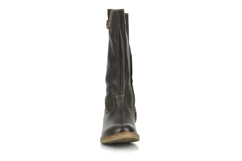 Boots & wellies Noël Folk Brown model view