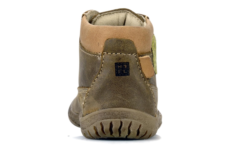 Bottines et boots Noël Mini factor Marron vue droite