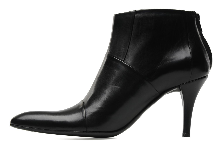 Bottines et boots Free Lance Jaspe 7 low zip boot Noir vue face