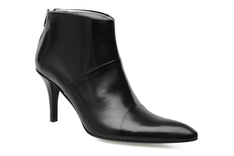 Bottines et boots Free Lance Jaspe 7 low zip boot Noir vue détail/paire